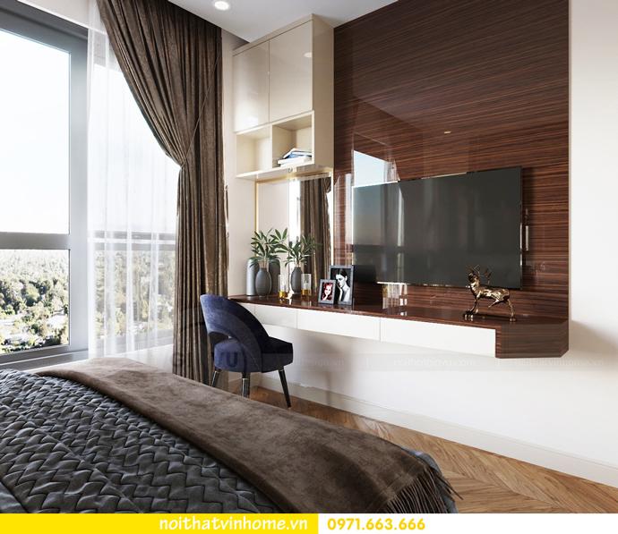 thiết kế nội thất căn hộ diện tích nhỏ 54m2 tại Vinhomes Green Bay 7