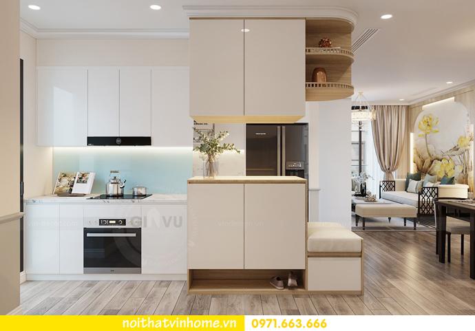 thiết kế nội thất chung cư Á Đông tại Vinhomes Skylake tòa S3 căn 09 1