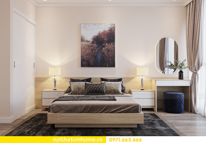 thiết kế nội thất chung cư Á Đông tại Vinhomes Skylake tòa S3 căn 09 11