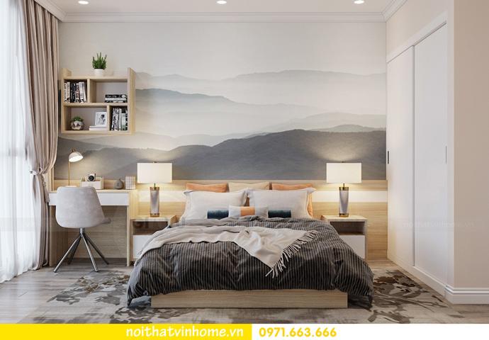 thiết kế nội thất chung cư Á Đông tại Vinhomes Skylake tòa S3 căn 09 12