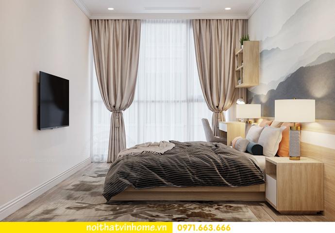 thiết kế nội thất chung cư Á Đông tại Vinhomes Skylake tòa S3 căn 09 13