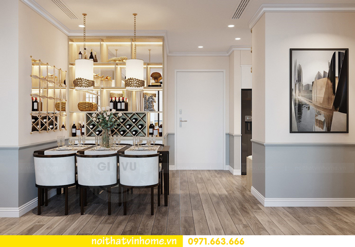 thiết kế nội thất chung cư Á Đông tại Vinhomes Skylake tòa S3 căn 09 2