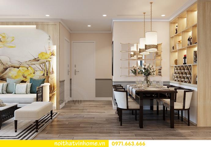 thiết kế nội thất chung cư Á Đông tại Vinhomes Skylake tòa S3 căn 09 3