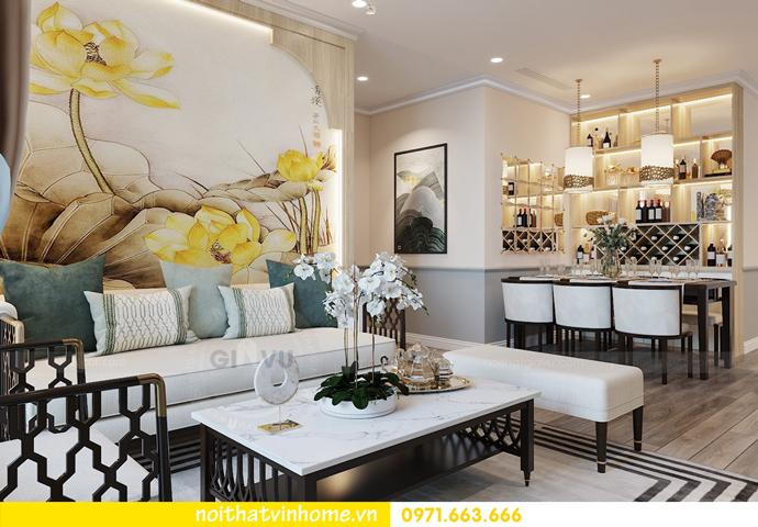 thiết kế nội thất chung cư Á Đông tại Vinhomes Skylake tòa S3 căn 09 4