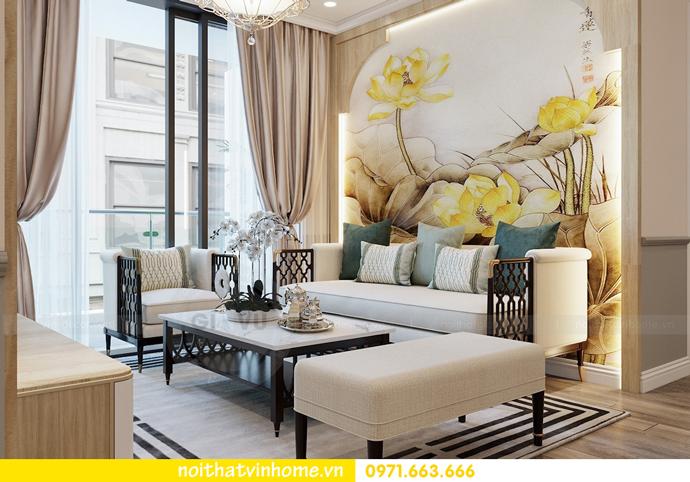 thiết kế nội thất chung cư Á Đông tại Vinhomes Skylake tòa S3 căn 09 5