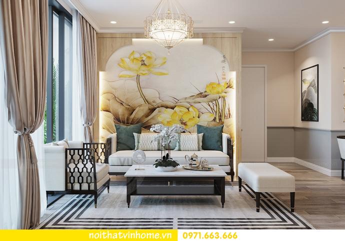 thiết kế nội thất chung cư Á Đông tại Vinhomes Skylake tòa S3 căn 09 6