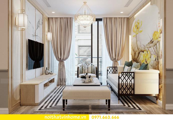 thiết kế nội thất chung cư Á Đông tại Vinhomes Skylake tòa S3 căn 09 7