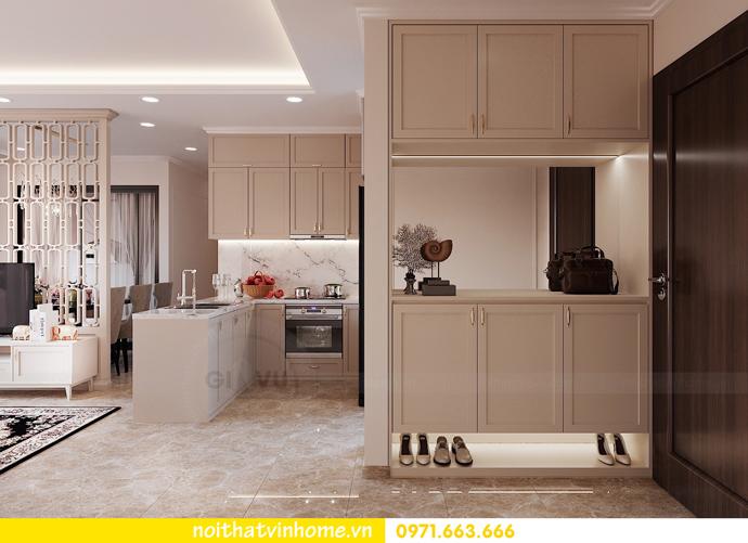 thiết kế nội thất chung cư DCapitale 3 phòng ngủ C602 anh chiều 1