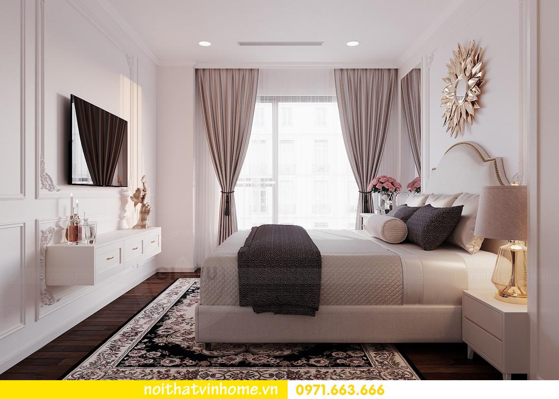 thiết kế nội thất chung cư DCapitale 3 phòng ngủ C602 anh chiều 10