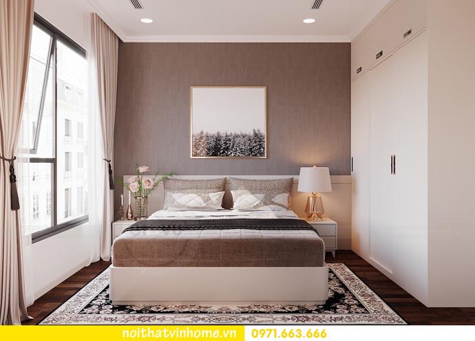 thiết kế nội thất chung cư DCapitale 3 phòng ngủ C602 anh chiều 12