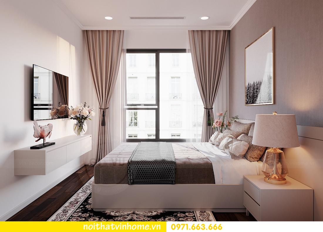 thiết kế nội thất chung cư DCapitale 3 phòng ngủ C602 anh chiều 13