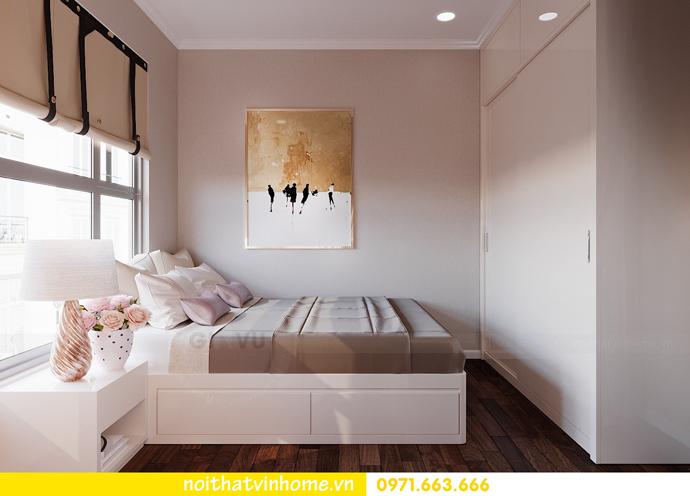 thiết kế nội thất chung cư DCapitale 3 phòng ngủ C602 anh chiều 14