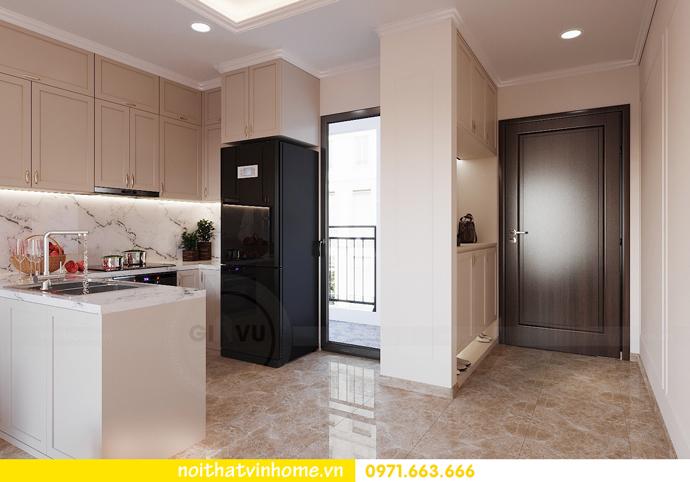thiết kế nội thất chung cư DCapitale 3 phòng ngủ C602 anh chiều 2
