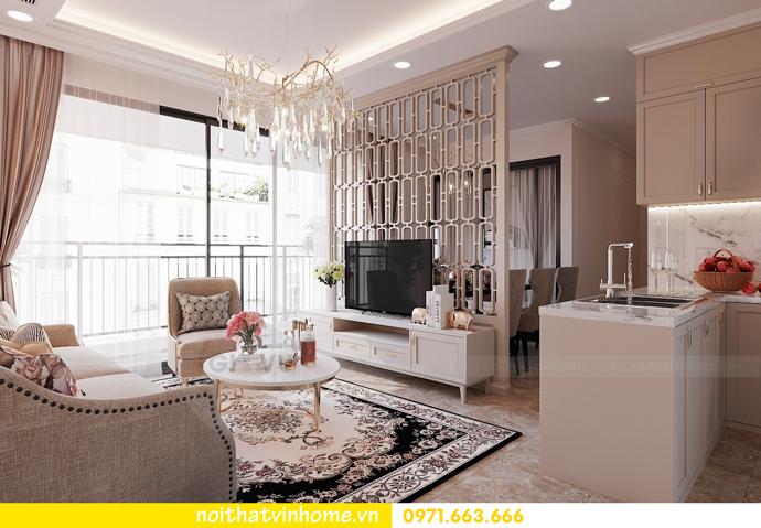 thiết kế nội thất chung cư DCapitale 3 phòng ngủ C602 anh chiều 3