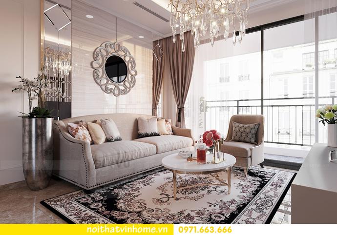 thiết kế nội thất chung cư DCapitale 3 phòng ngủ C602 anh chiều 5