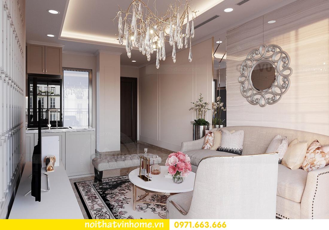 thiết kế nội thất chung cư DCapitale 3 phòng ngủ C602 anh chiều 6