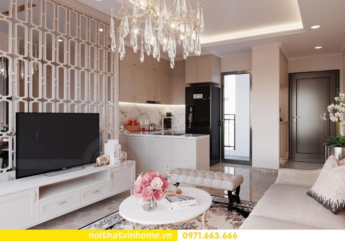 thiết kế nội thất chung cư DCapitale 3 phòng ngủ C602 anh chiều 7
