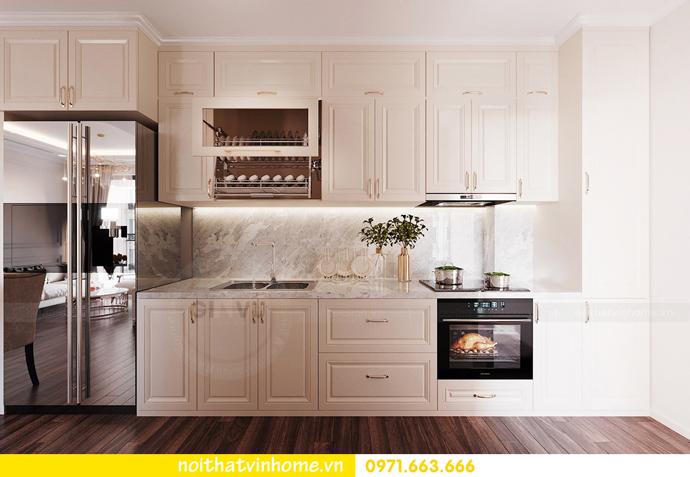 thiết kế nội thất hiện đại tại Vinhomes D Capitale gia đình chị Lệ 03
