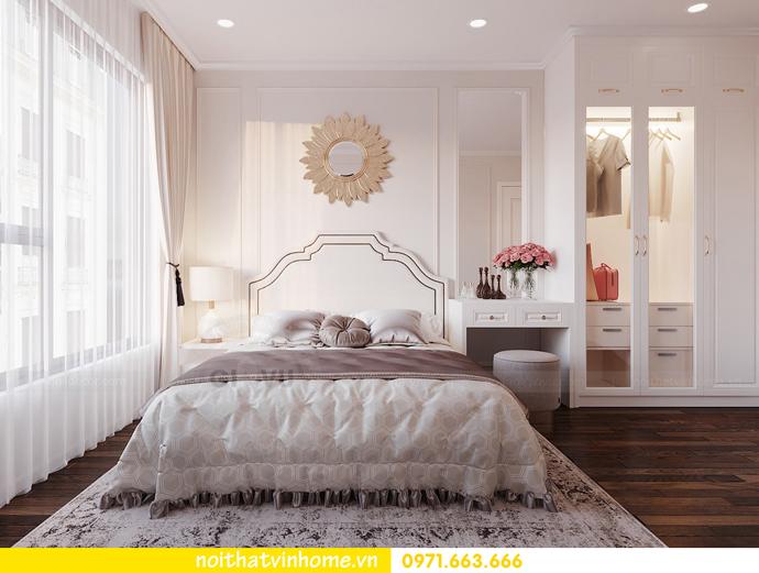 thiết kế nội thất hiện đại tại Vinhomes D Capitale gia đình chị Lệ 06