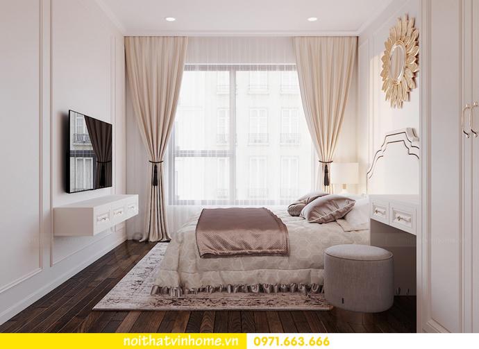 thiết kế nội thất hiện đại tại Vinhomes D Capitale gia đình chị Lệ 07