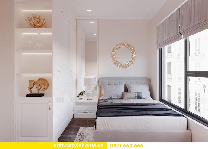 thiết kế nội thất hiện đại tại Vinhomes D Capitale gia đình chị Lệ 08