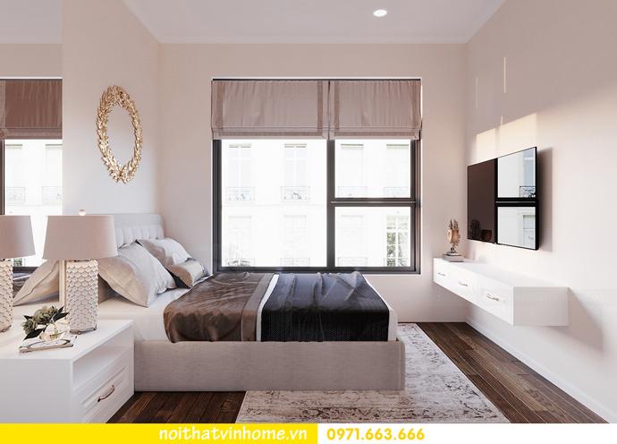 thiết kế nội thất hiện đại tại Vinhomes D Capitale gia đình chị Lệ 09