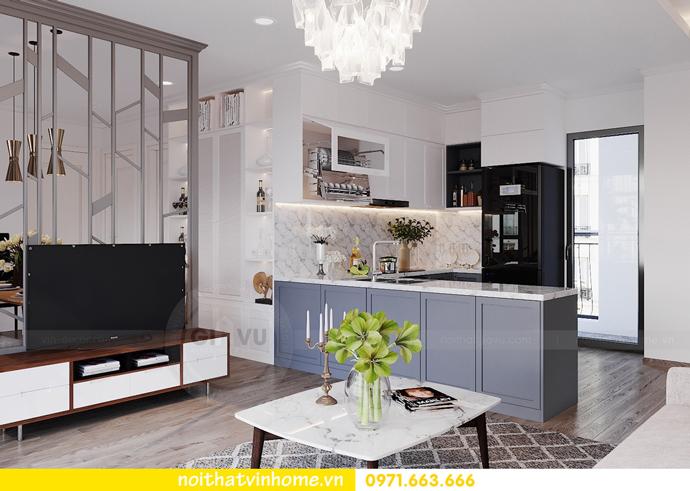 thiết kế nội thất hiện đại tại Vinhomes D Capitale tòa C1 căn 03 nhà cô Lan 4