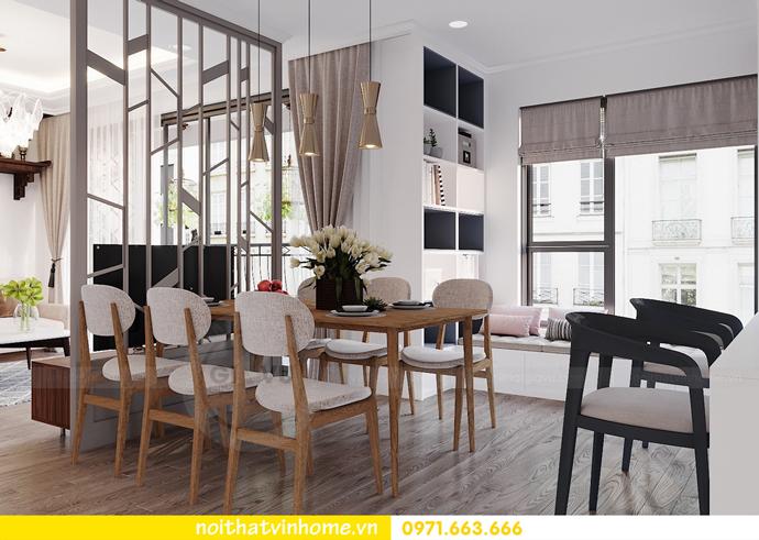 thiết kế nội thất hiện đại tại Vinhomes D Capitale tòa C1 căn 03 nhà cô Lan 5