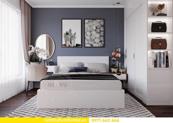 thiết kế nội thất hiện đại tại Vinhomes D Capitale tòa C1 căn 03 nhà cô Lan 6