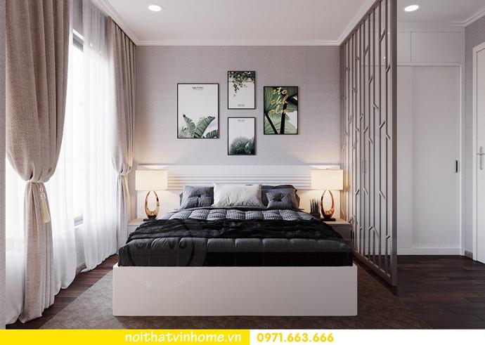 thiết kế nội thất hiện đại tại Vinhomes D Capitale tòa C1 căn 03 nhà cô Lan 8