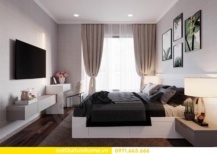 thiết kế nội thất hiện đại tại Vinhomes D Capitale tòa C1 căn 03 nhà cô Lan 9