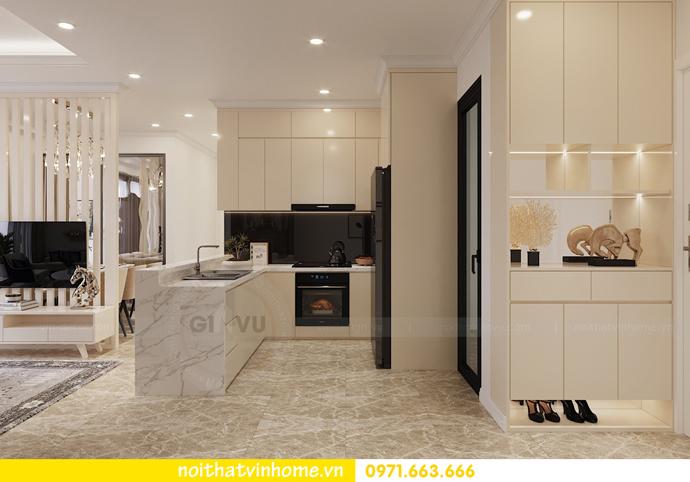 mẫu thiết kế nội thất căn hộ đẹp tại Vinhomes DCapitale 1