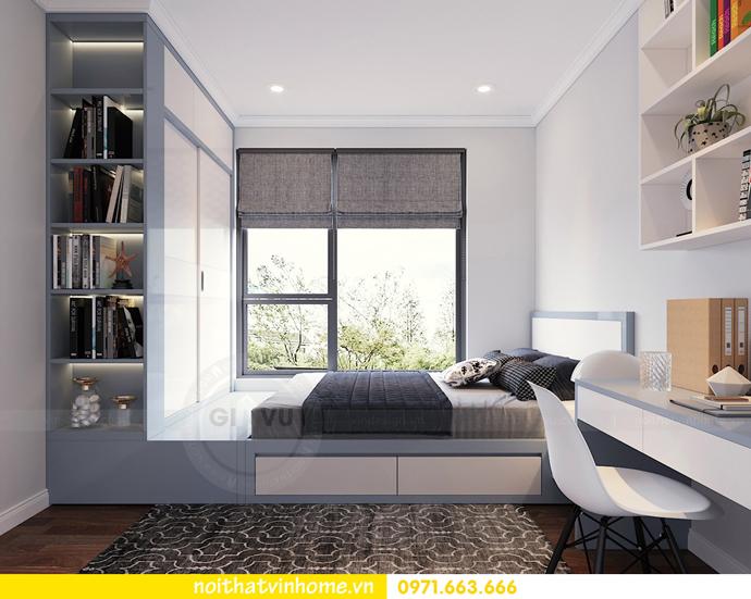 mẫu thiết kế nội thất căn hộ đẹp tại Vinhomes DCapitale 10