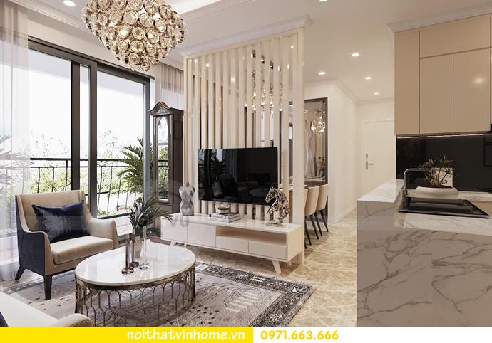 mẫu thiết kế nội thất căn hộ đẹp tại Vinhomes DCapitale 2