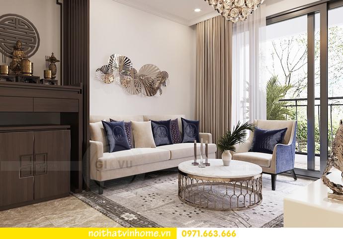 mẫu thiết kế nội thất căn hộ đẹp tại Vinhomes DCapitale 3