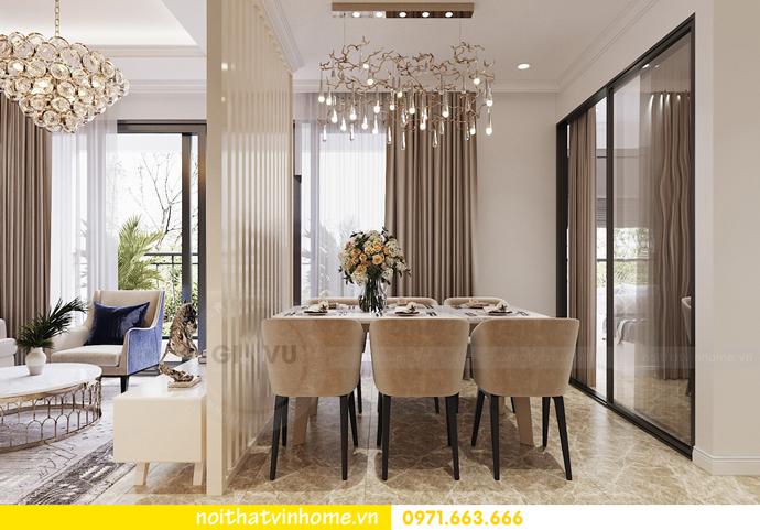 mẫu thiết kế nội thất căn hộ đẹp tại Vinhomes DCapitale 5