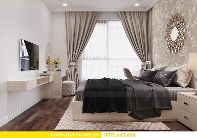 mẫu thiết kế nội thất căn hộ đẹp tại Vinhomes DCapitale 6