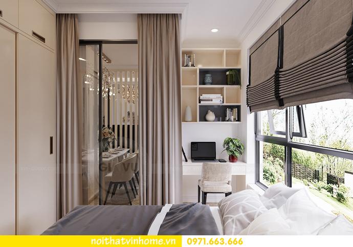 mẫu thiết kế nội thất căn hộ đẹp tại Vinhomes DCapitale 9