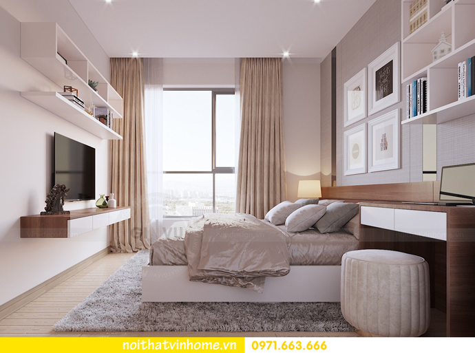 nội thất chung cư D'Capitale tòa C1 căn 09 nhà chị An 08