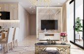 thiết kế nội thất căn hộ chung cư đẹp tại Vinhomes D Capitale