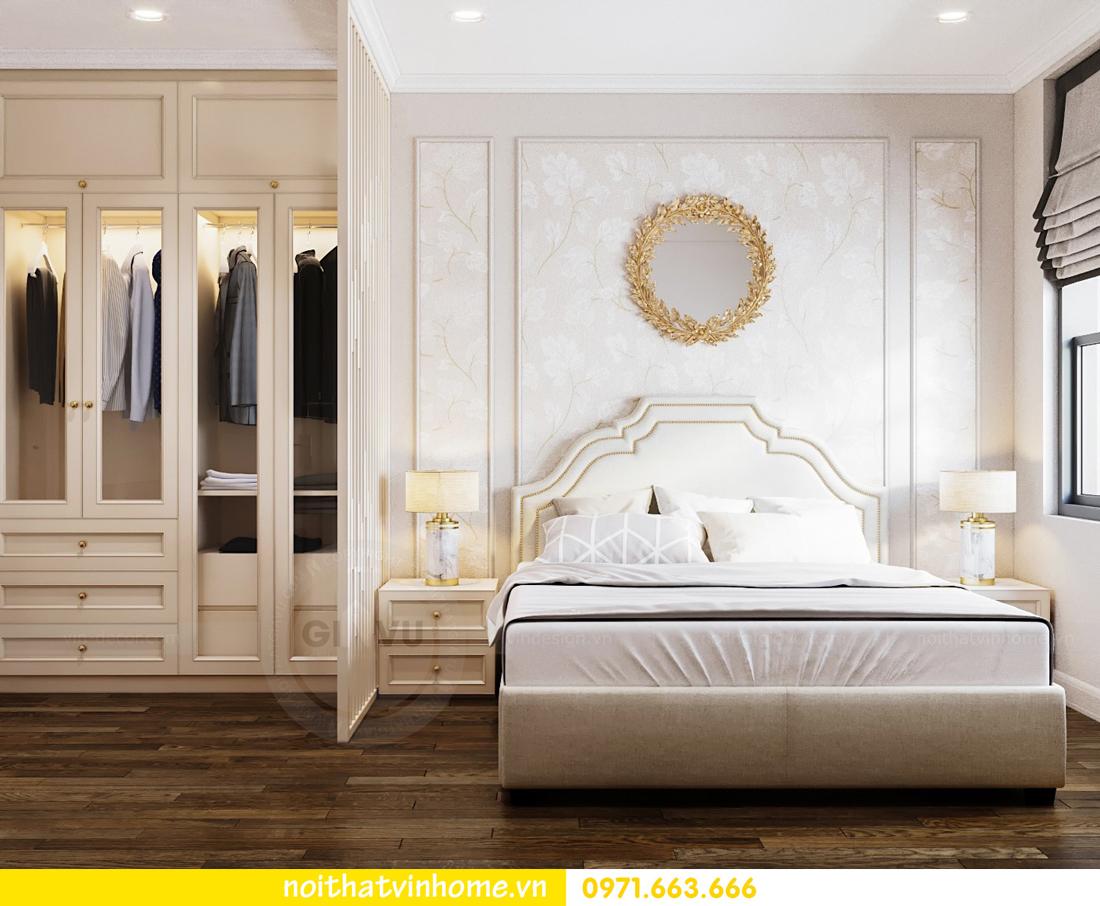 thiết kế nội thất căn hộ chung cư đẹp tại Vinhomes D Capitale căn C709 5