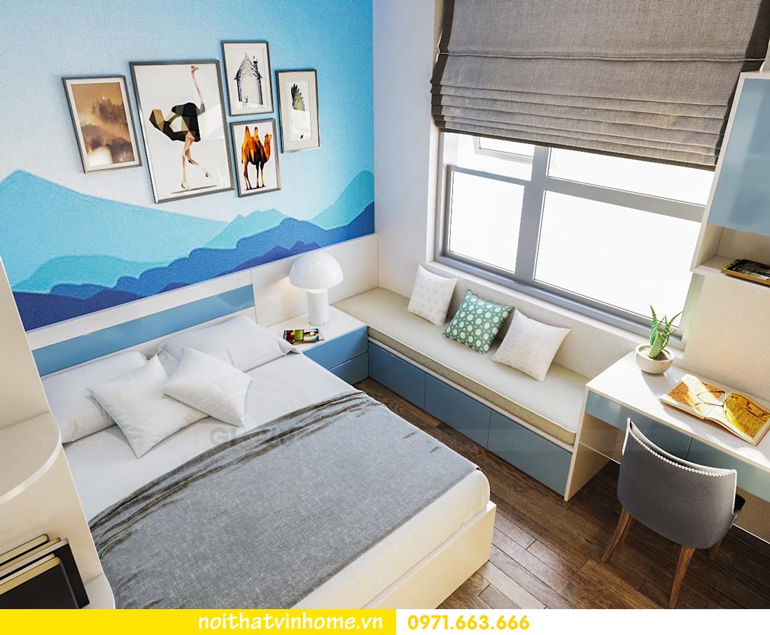 thiết kế nội thất căn hộ chung cư đẹp tại Vinhomes D Capitale căn C709 7