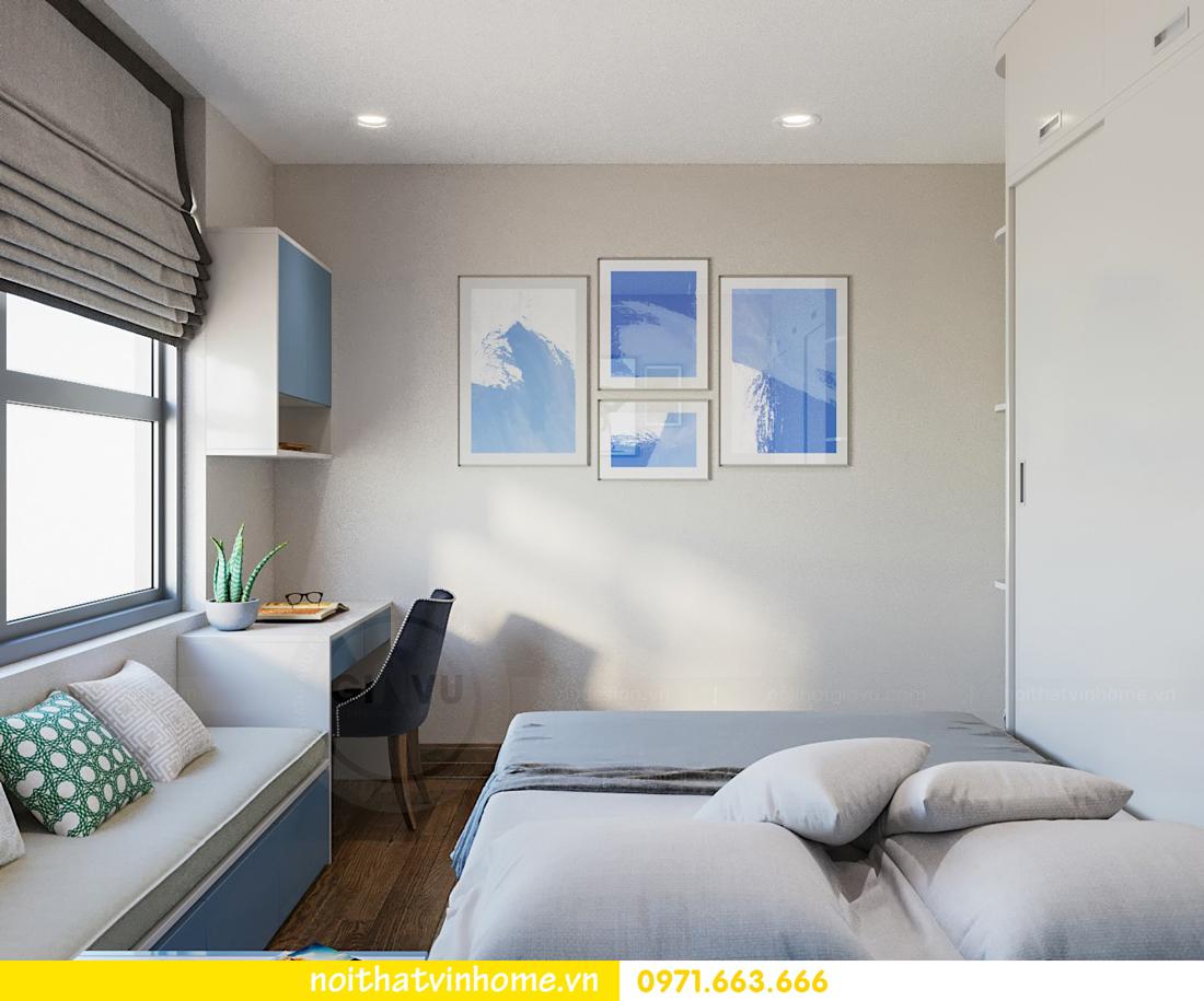 thiết kế nội thất căn hộ chung cư đẹp tại Vinhomes D Capitale căn C709 8