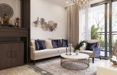 thiết kế nội thất căn hộ đẹp tại Vinhomes D Capitale nhà chị Huế