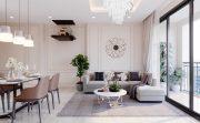 thiết kế nội thất căn hộ hiện đại tại Vinhomes D Capitale C303