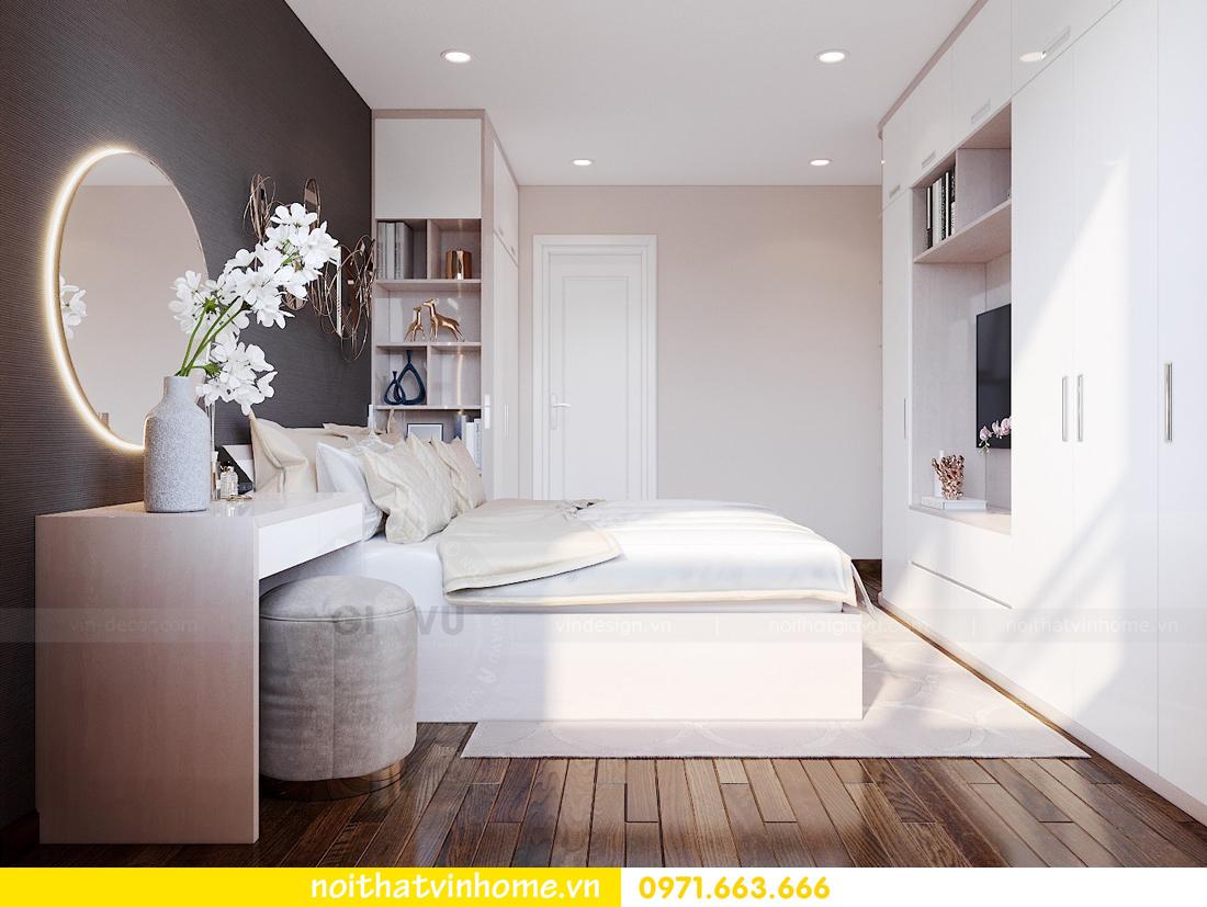 thiết kế nội thất căn hộ hiện đại tại Vinhomes D Capitale C303 chị Minh 5