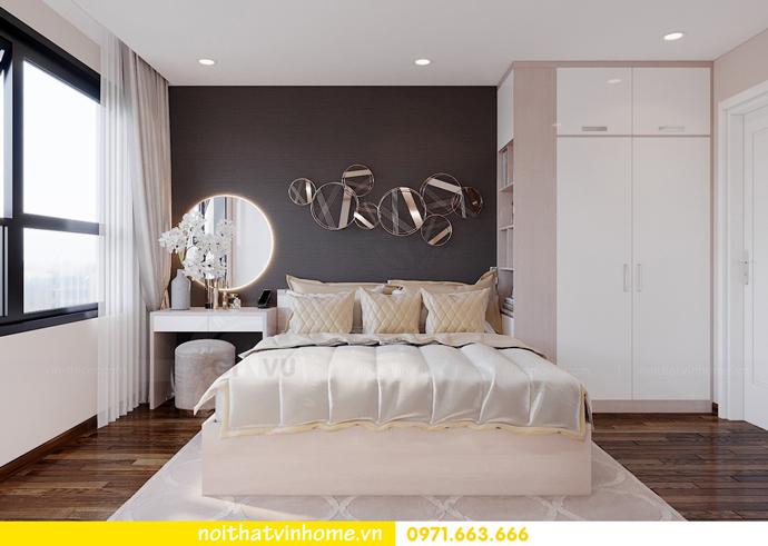 thiết kế nội thất căn hộ hiện đại tại Vinhomes D Capitale C303 chị Minh 6