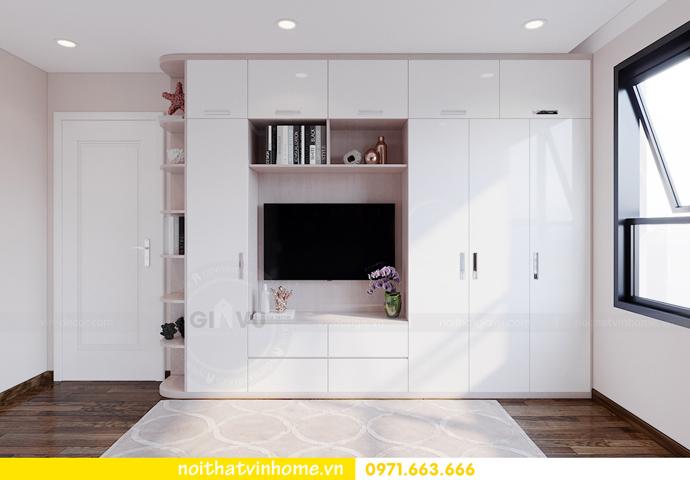 thiết kế nội thất căn hộ hiện đại tại Vinhomes D Capitale C303 chị Minh 7