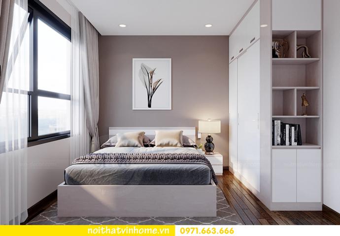thiết kế nội thất căn hộ hiện đại tại Vinhomes D Capitale C303 chị Minh 8