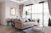 thiết kế nội thất căn hộ Vinhomes D Capitale tòa C6 CH09